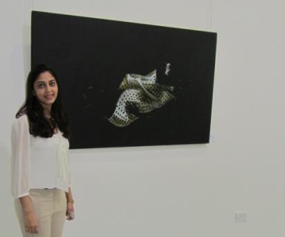 pic-1--Annem Zaidi with artwork