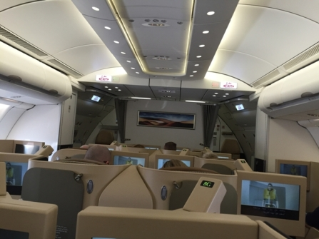 Business Class Travel Experience